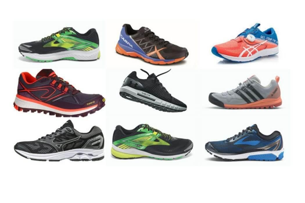 alleanrsi con più scarpe da running