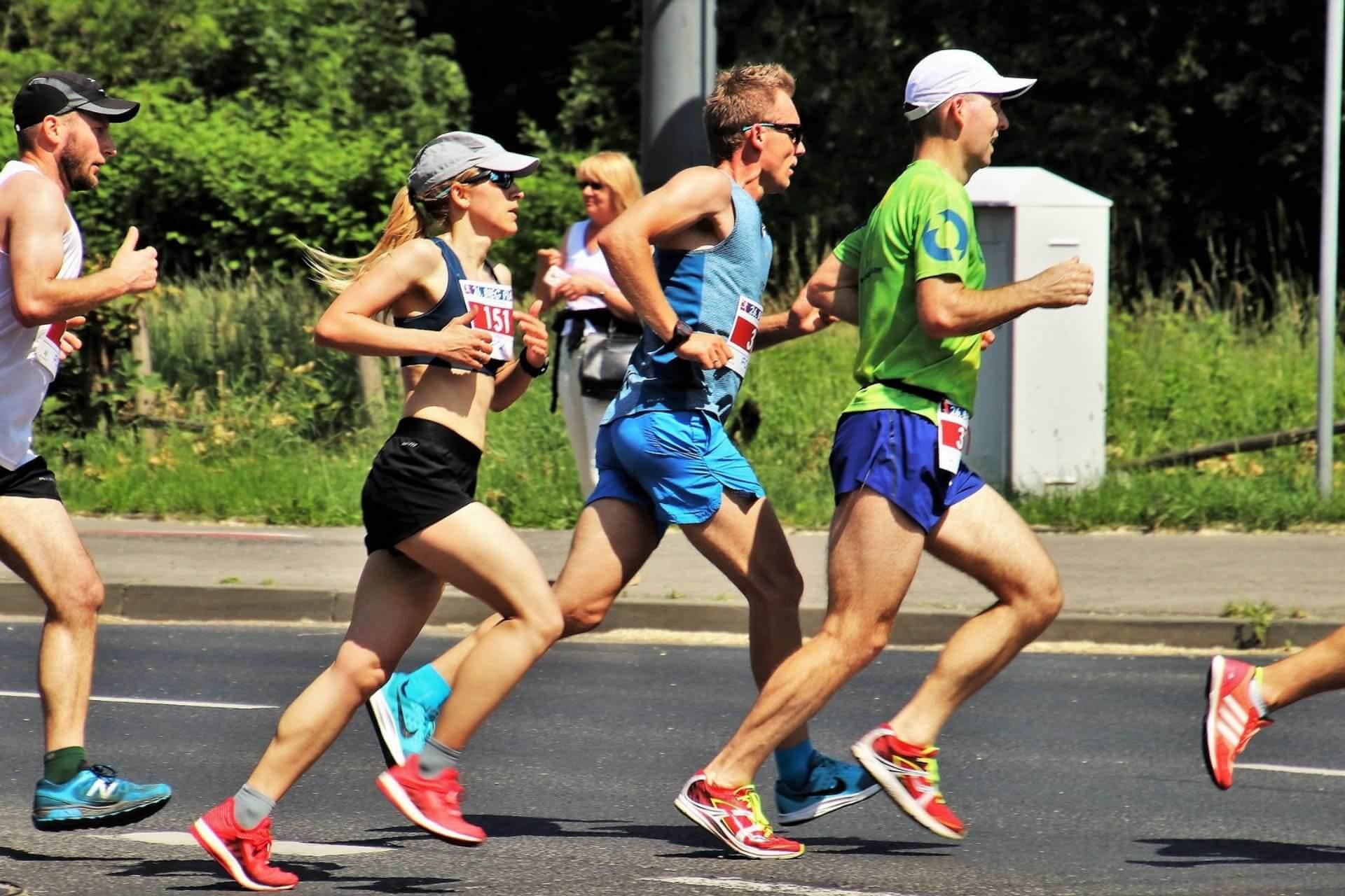 programma e tabella mezza maratona