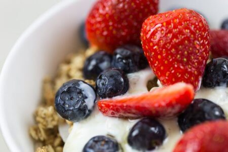 yogurt greco per il runner