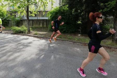 riscaldamento prima di correre