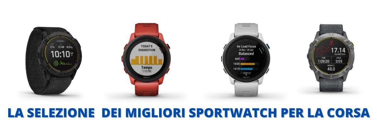 Migliori orologi per la corsa 2021