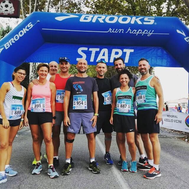 team runner 451 alla maratona alzheimer