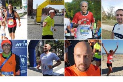 Maratona di Firenze runner 451 team