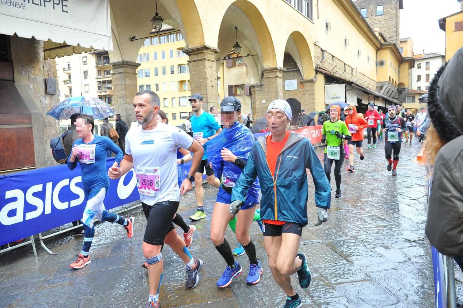 maratona di firenze ponte vecchio