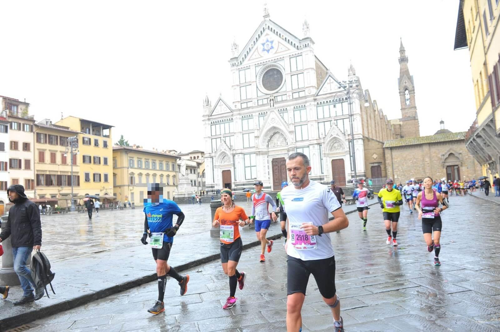maratona di firenze santa croce