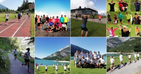 Running camp Dolomiti Andalo