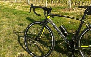La bicicletta in aiuto della corsa