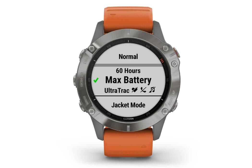 Garmin Fenix 6 battery