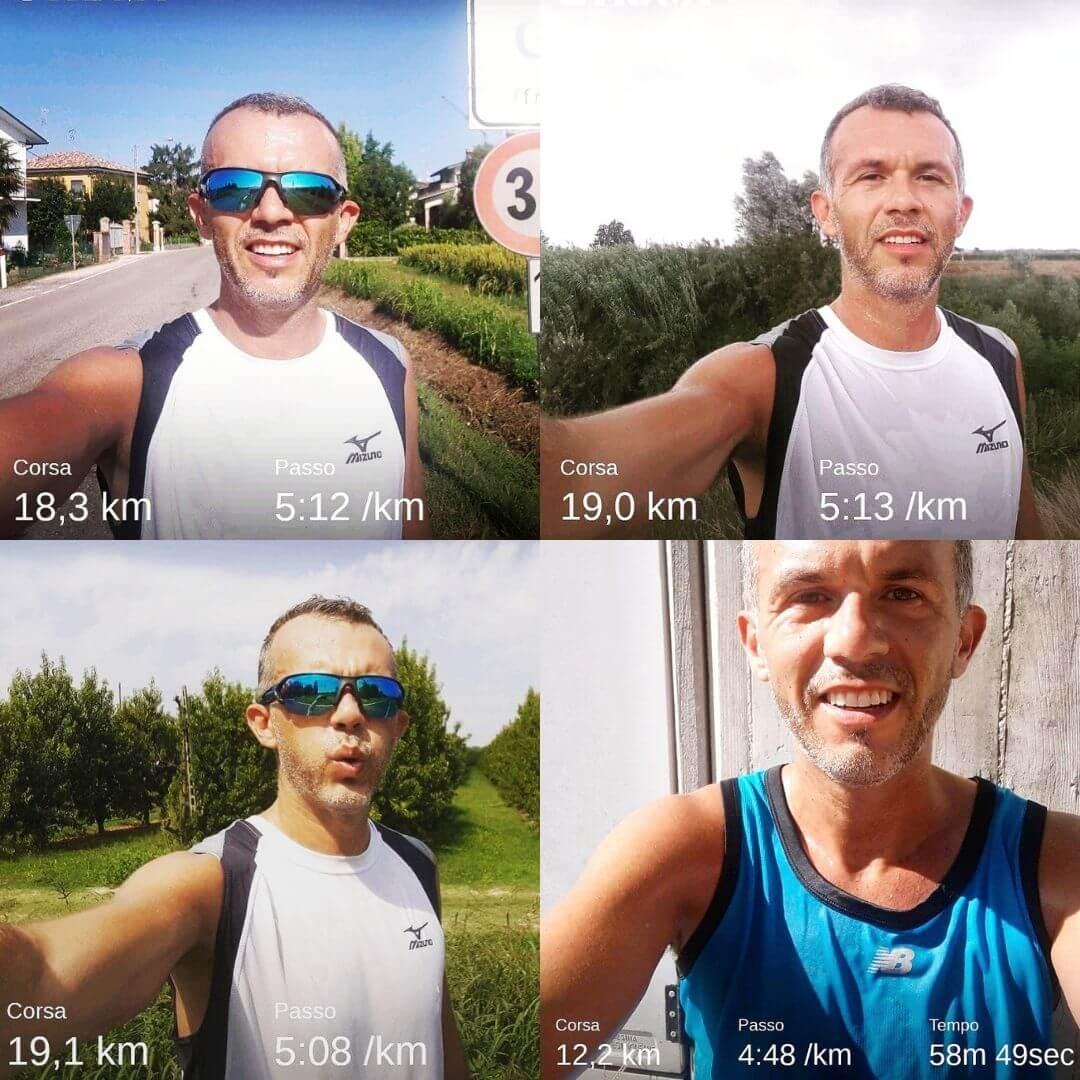 3 lunghi per la mezza maratona