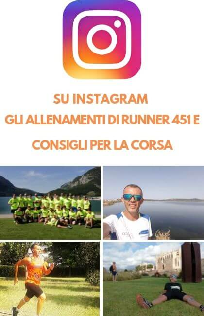 RUNNER 451 SU INSTAGRAM