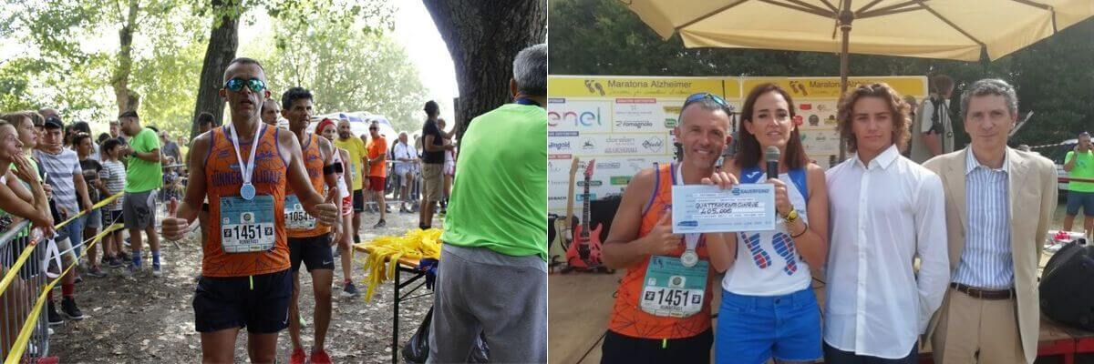 mezza maratona alzheimer premiazione