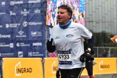 Paolo alla Maratona di Mosca