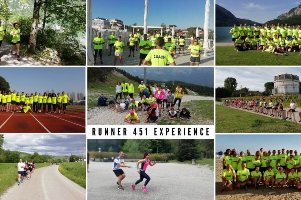 Runner 451 Experience campus corsa