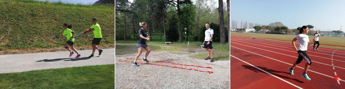 tecnica di corsa alle Runner 451 Experience