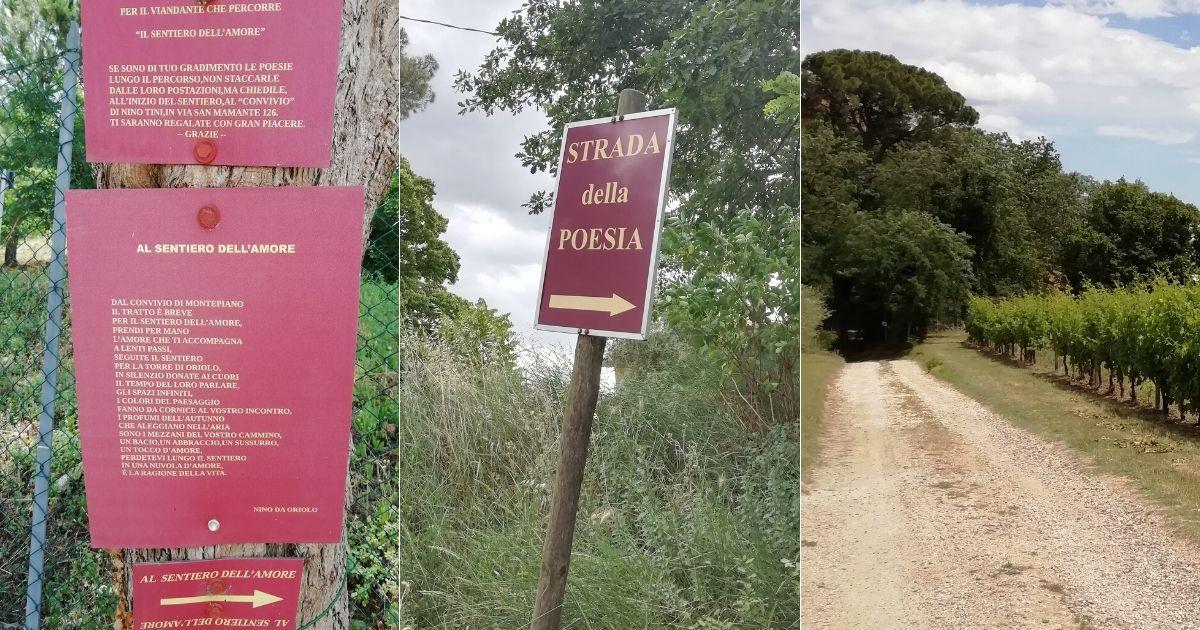 Strada della poesia e sentiero dell'amore