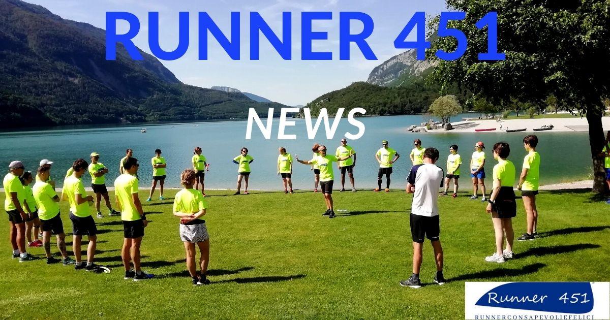Le informazioni sulla corsa di Runner 451