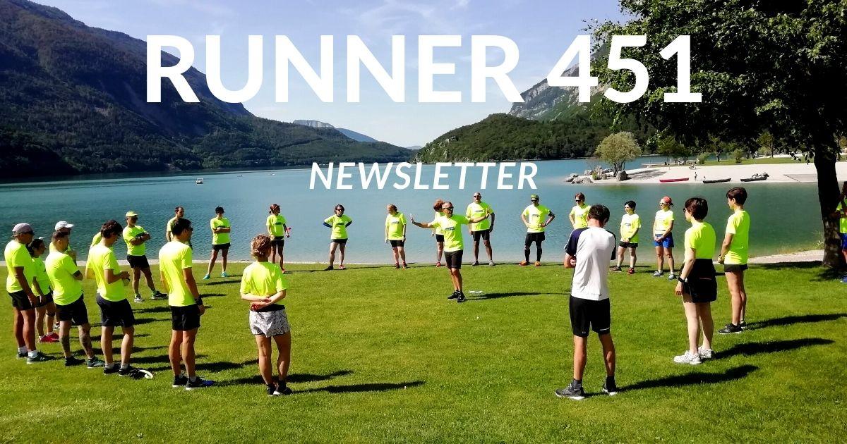 RUNNER 451 NEWSLETTER