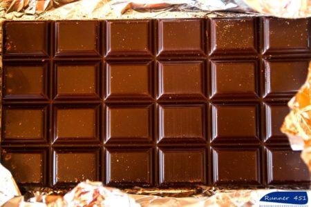 cioccolato amico del runner