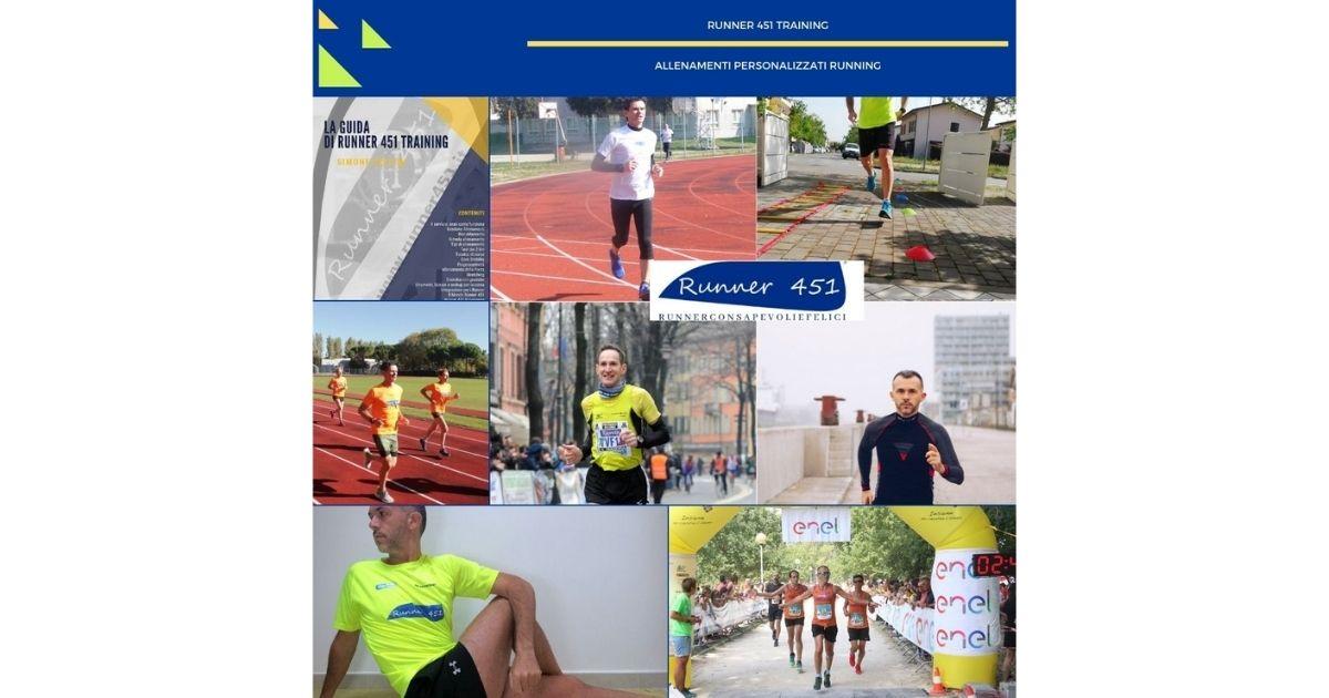 allenamenti personalizzati runner 451 training