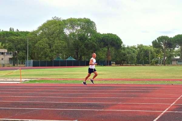 allenarsi il giorno prima della gara